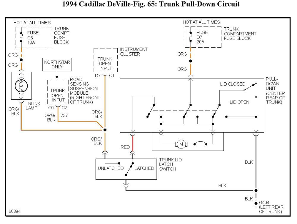 medium resolution of 1994 cadillac seville wiring diagram wiring diagram centrequestion 1994 cadillac deville fuse 5 60 amp