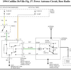 Power Antenna Wiring Diagram 1965 Mustang Headlight 1999 Cadillac Eldorado
