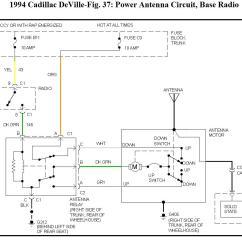Power Antenna Wiring Diagram Blank Flower 1999 Cadillac Eldorado