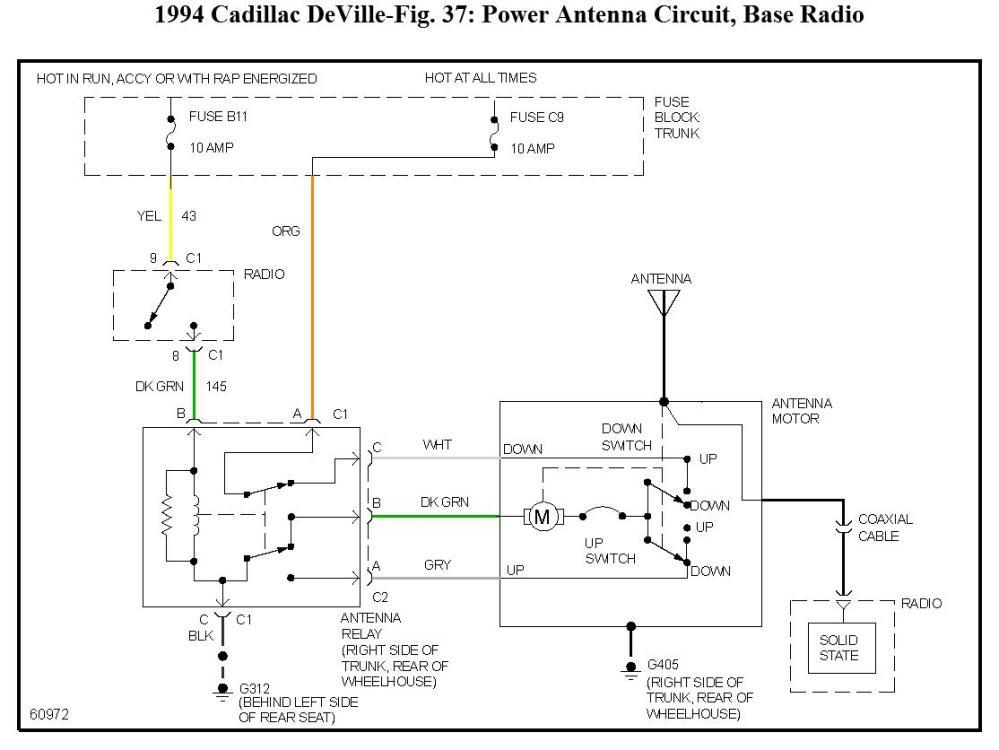 medium resolution of question 1994 cadillac deville fuse 5 60 amp maxifuse controls