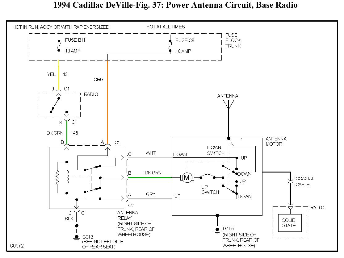 hight resolution of question 1994 cadillac deville fuse 5 60 amp maxifuse controls
