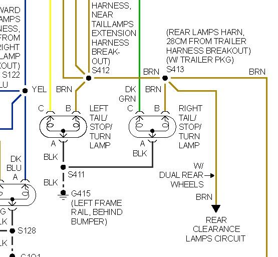 tail light wiring diagram chevy monkey bike 1999 suburban brake schematic great installation of 99 silverado diagrams img rh 10 andreas bolz de 1995 1998