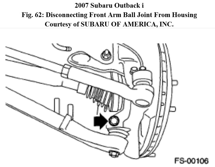 Service manual [How To Remove 2007 Subaru Outback Hub