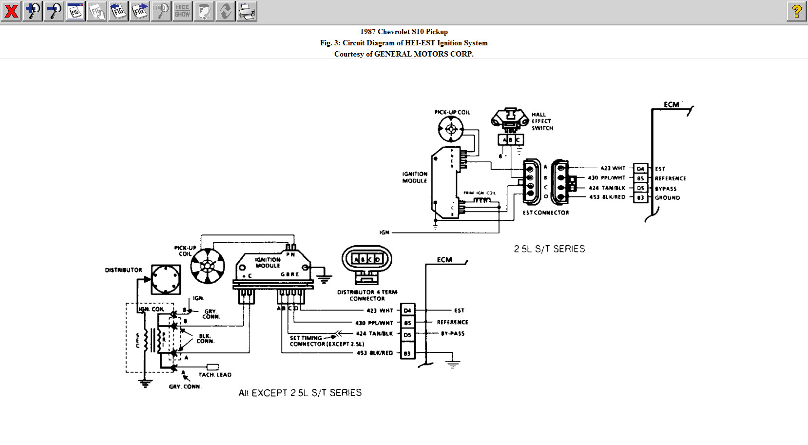 hight resolution of 87 s 10 no inj pulse i have a 87 chevy s 10 with the 4 tech 2 5