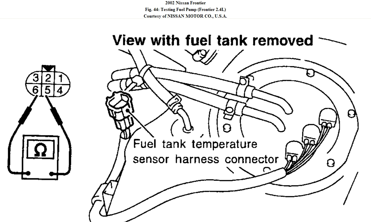 Nissan Frontier Fuel System Diagram : 35 Wiring Diagram