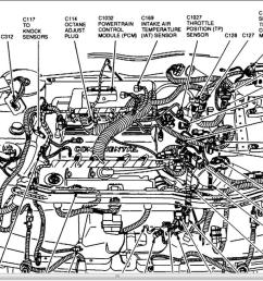 lincoln continental 1997 engine diagram [ 1366 x 654 Pixel ]