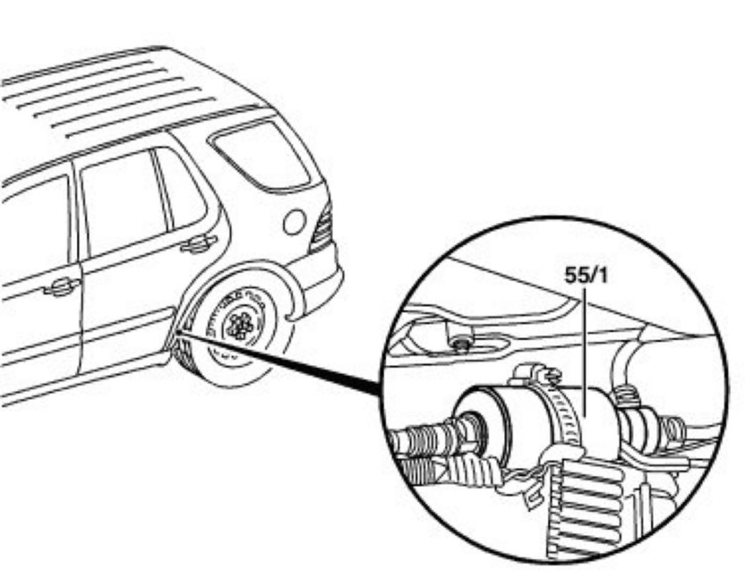 Mercedes Fuel Filter Location Auto Electrical Wiring Diagram Benz 380sl 1998 Ml320 Cabin Where Is The On A 2004 Ml 350