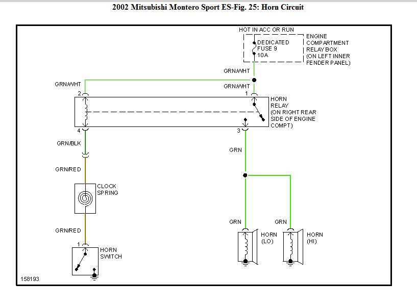 wiring diagram for mitsubishi diamante
