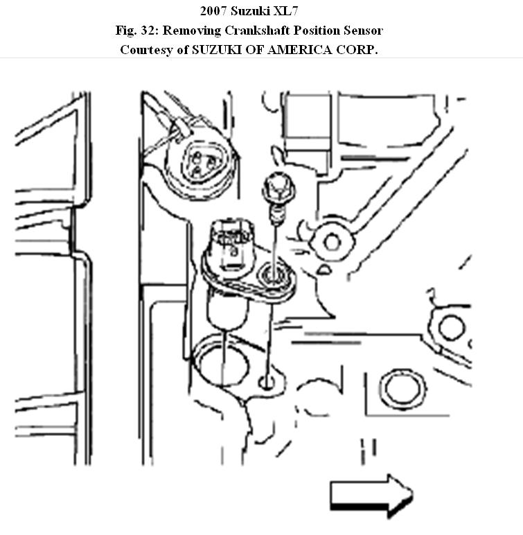 Service manual [2007 Suzuki Xl7 Crankshaft Removal