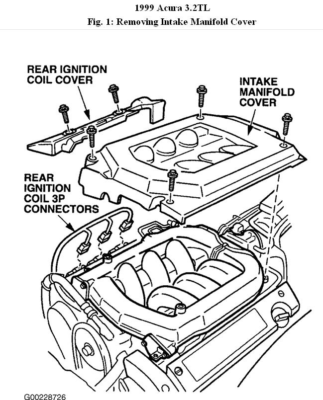 1999 Acura TL EGR Valve: Engine Performance Problem 1999