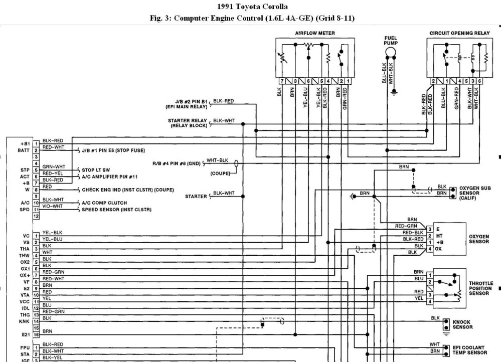 medium resolution of toyota 1g fe ecu wiring diagram diagrams the