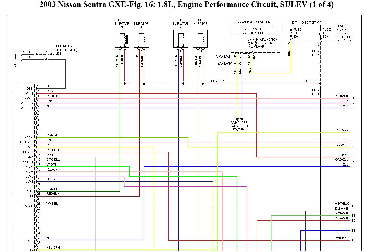 nissan almera 2003 radio wiring diagram trailer plug 6 way for qg18 ecu tuning elsavadorla