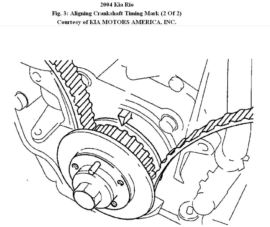 Changing Timing Belt: I a Just Needing a Step by Step on