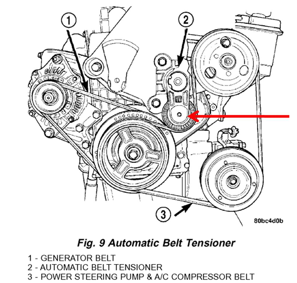 Power Steering Belt Tensioner: Cant Reach the Bolt on 2005