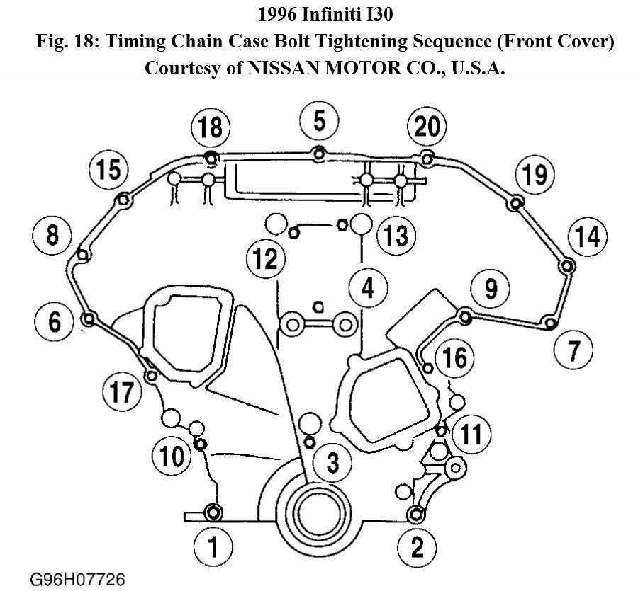96 Infiniti I30 Belt Tensioner Diagram. Infiniti. Auto