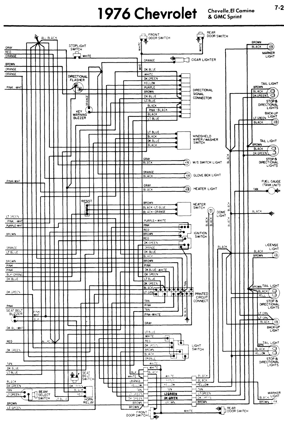 Blower Fan Wiring Diagram For Chevy Heater Blower Fan Quit There Is No Power To The Dash