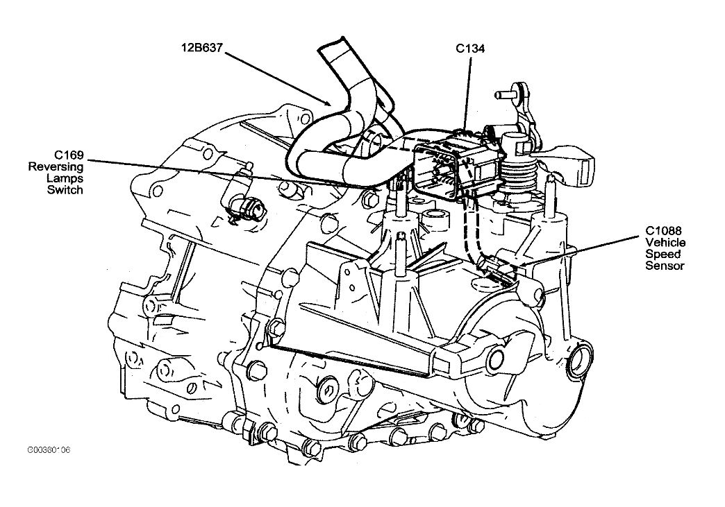 Diagram Of 2006 Ford Escape Automatic Transmission. Ford