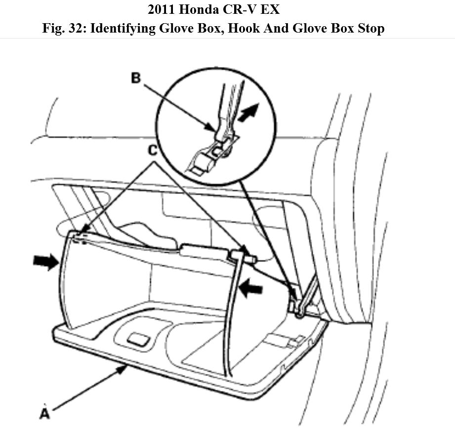 Service manual [How To Remove Glovebox On A 2011 Honda Cr
