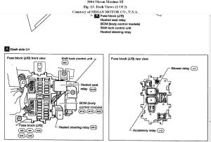2004 Maxima Fuse Diagram | Wiring Library