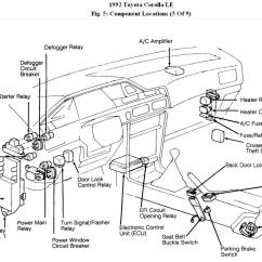 Vz Cooling Fan Wiring Diagram Travel Trailer Brake Pictures Of A 1991 Toyota Corolla Efi Engine