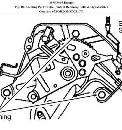 front brake cable replacement how do you disconnect the front99 f350 parking brake wiring diagram  [ 1108 x 814 Pixel ]
