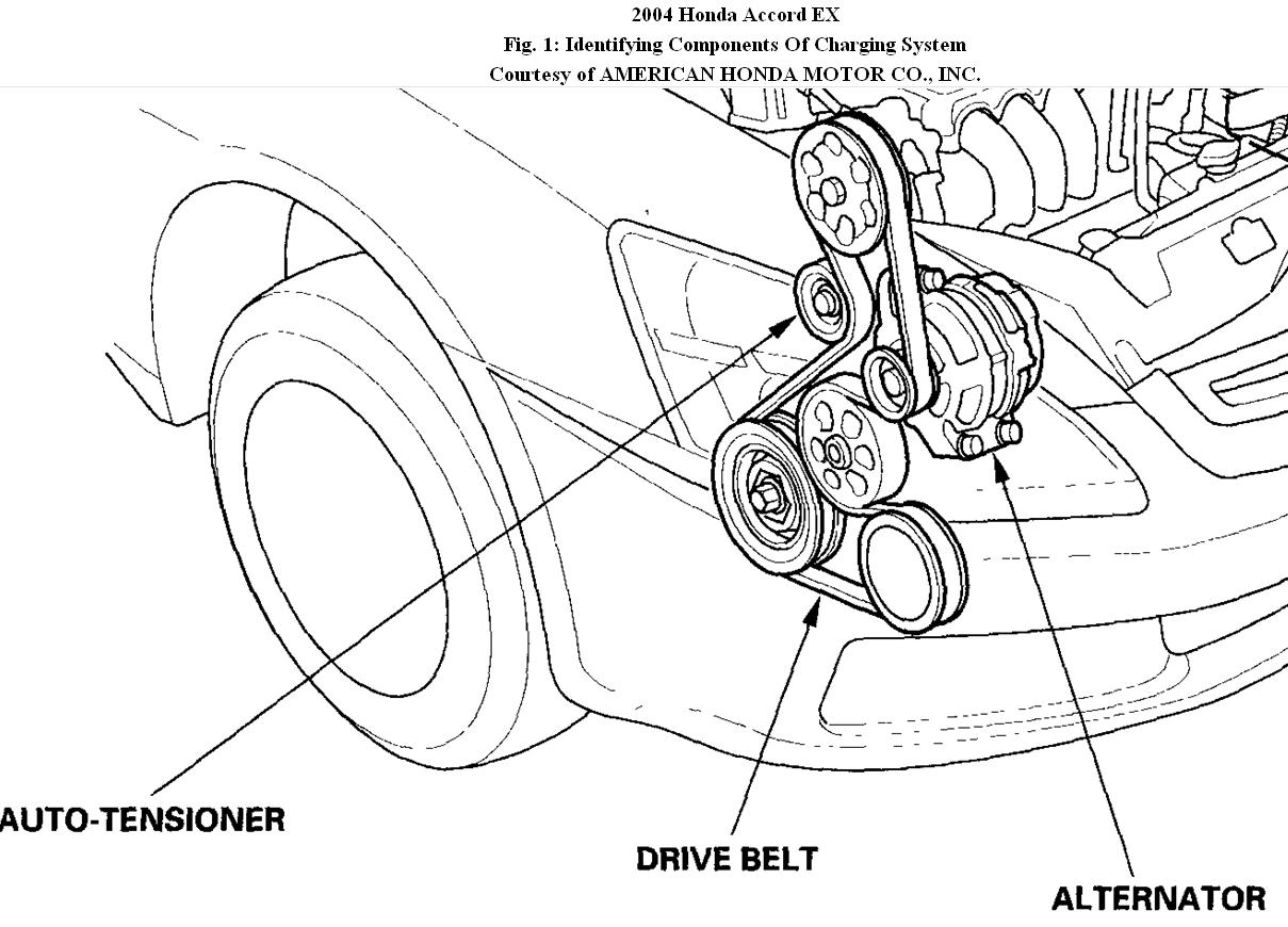 hight resolution of 04 accord 3 0 belt diagram wiring diagrams konsult 2004 honda accord belt diagram v6
