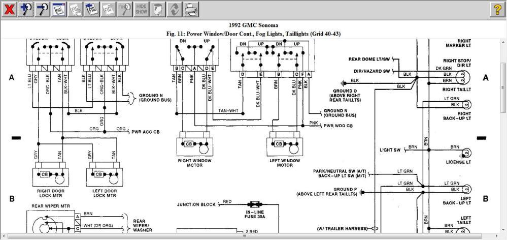 medium resolution of 1992 gmc sonoma fuse box location vacuum auto wiring diagram