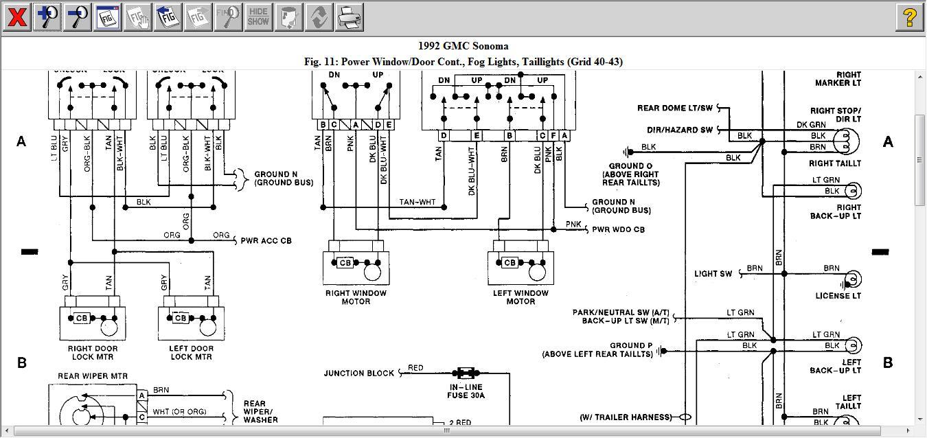 hight resolution of 1992 gmc sonoma fuse box location vacuum auto wiring diagram