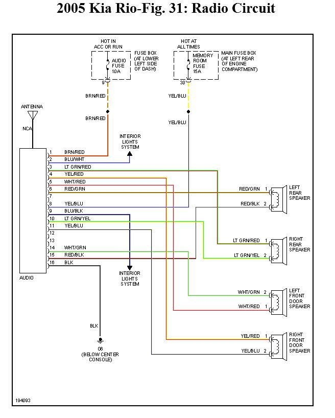 2006 kia rio wiring diagram 2006 wiring diagrams kia radio wiring diagram kia wiring diagrams