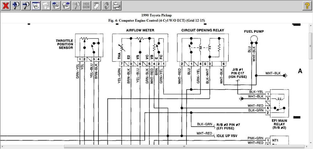 medium resolution of wrg 3497 93 toyota t100 fuel pump wiring93 toyota t100 fuel pump wiring