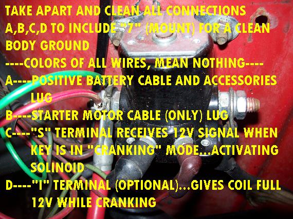 wiring diagram for a starter solenoid 1986 mazda b2000 radio need info on what wires go where e g acc thumb