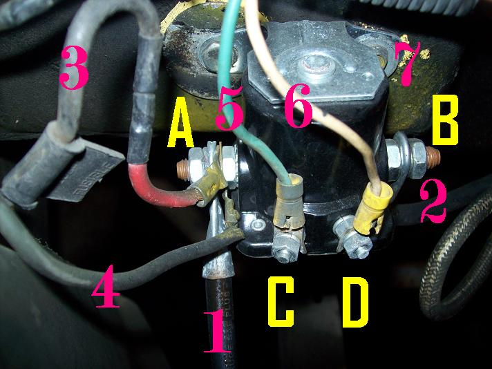 wiring diagram for a starter solenoid chevy electronic ignition need info on what wires go where e g acc thumb