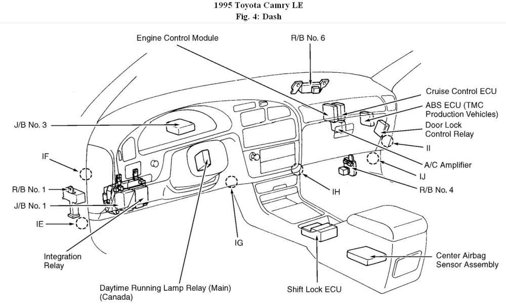 medium resolution of 2011 camry engine compartment diagram