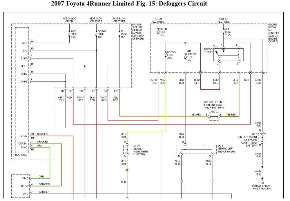 medium resolution of wrg 4274 1994 toyota 4runner engine diagram 1994 toyota 4runner rear window wiring diagram electrical