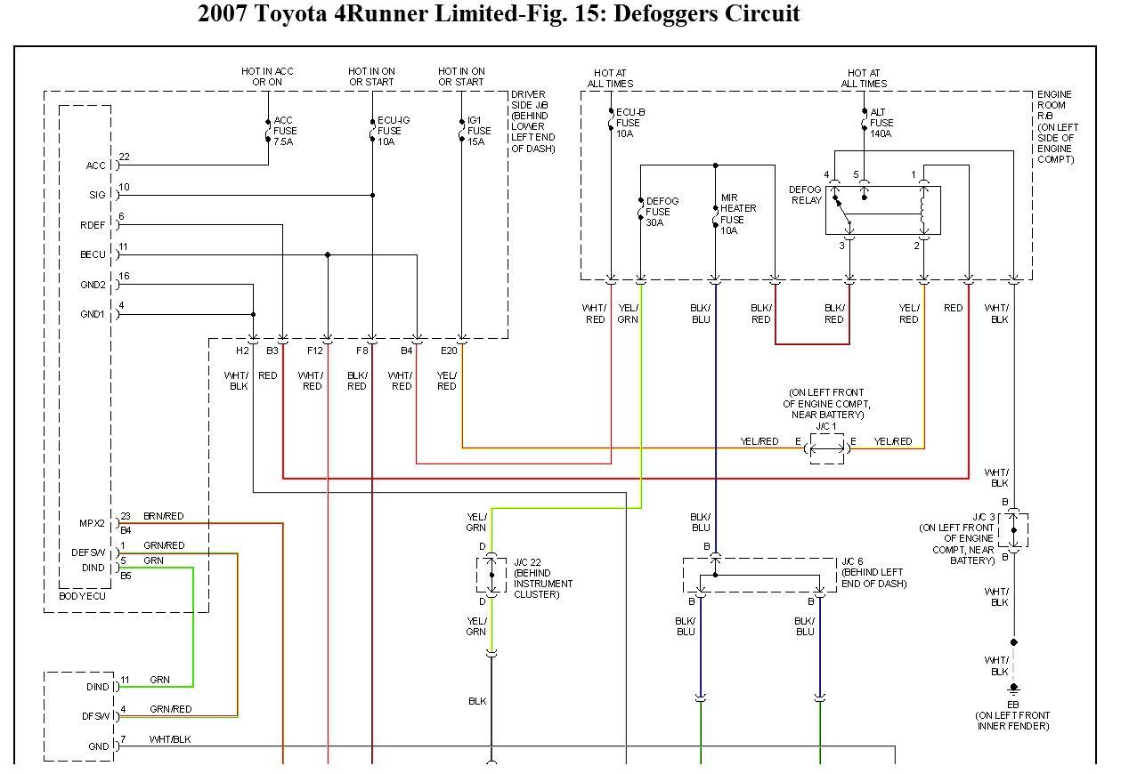 hight resolution of wrg 4274 1994 toyota 4runner engine diagram 1994 toyota 4runner rear window wiring diagram electrical