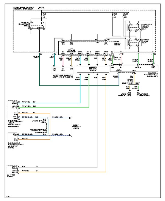 calibre thermo fan wiring diagram kicker cvr chrysler 300 ac schematic radiator not working why will my turn on dodge caliber