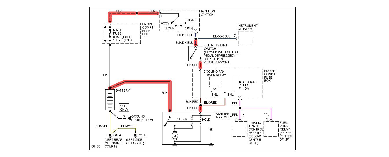 1998 Ford Escort Ignition Wiring Diagram : 40 Wiring