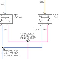 Headlight Wiring Diagram 555 Timer Headlights: I Have A 2001 Sunfire, The Lowbeam Recently Stopped ...
