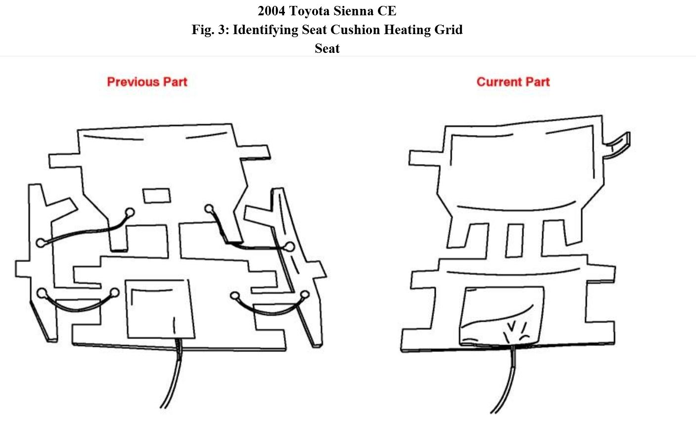 Heated Seats Inop (front) Can't Find Tsb Ac005-04r Dated