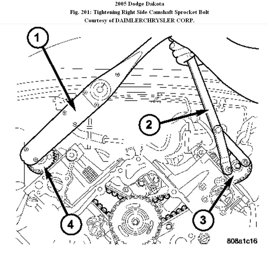 [2006 Dodge Dakota Engine Timing Chain Diagram