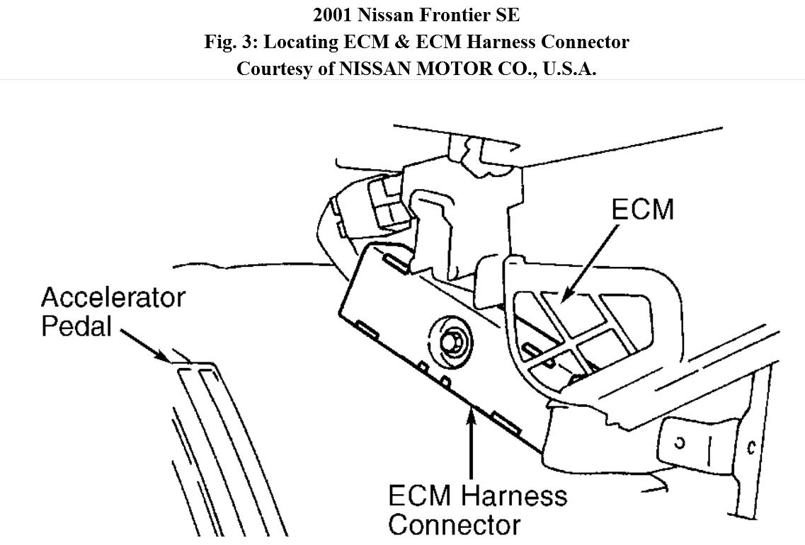Exhault Manifold 2001 Nissan Frontier Engine Diagram