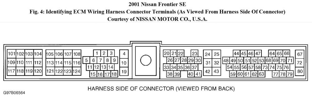 medium resolution of i have a 2001 nissan frontier se xe w 3 3l 6cyl engine no rh 2carpros com 1998 nissan frontier wiring diagram 98 nissan frontier wiring diagram