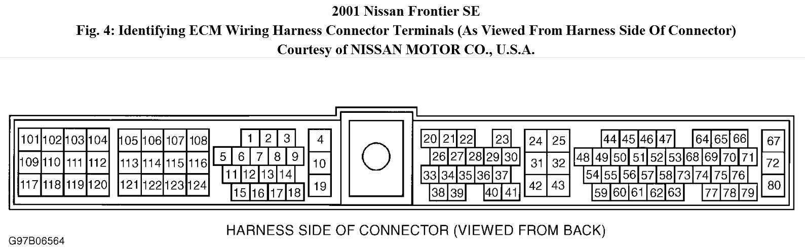 hight resolution of i have a 2001 nissan frontier se xe w 3 3l 6cyl engine no rh 2carpros com 1998 nissan frontier wiring diagram 98 nissan frontier wiring diagram