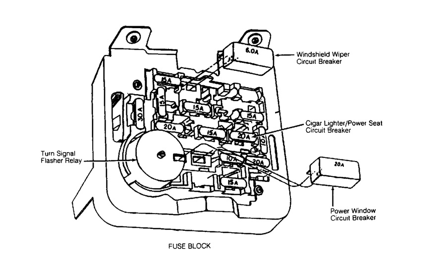 Looking For Fuse Box Diagram Ford Tempo. Ford. Auto Fuse