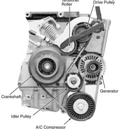 2006 mini cooper serpentine belt routing and timing belt diagramsserpentine and timing belt diagrams [ 1000 x 1177 Pixel ]