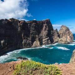 Steilküste auf Madeira