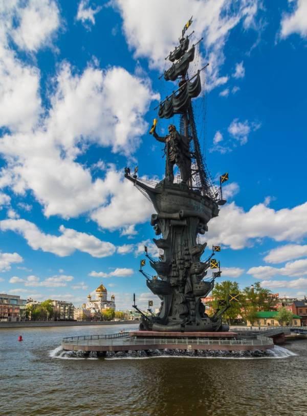 Monument Peter I. Moskau