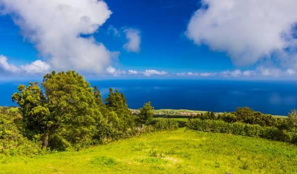 Aussichtspunkt Insel Faial