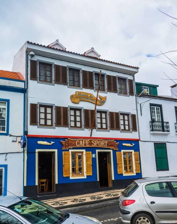 Cafe Peter Sport Horta Insel Faial