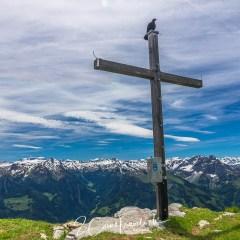 Gipfelkreuz des Leistchamm